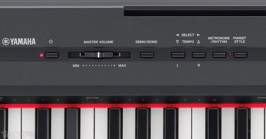 yamaha p105 review is this keyboard wothy for your money. Black Bedroom Furniture Sets. Home Design Ideas