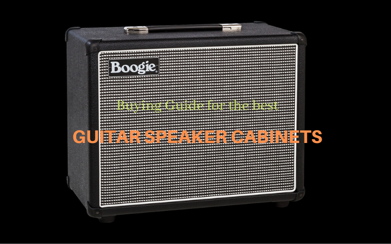 Best Guitar Speaker Cabinet Reviews Buyer's Guide