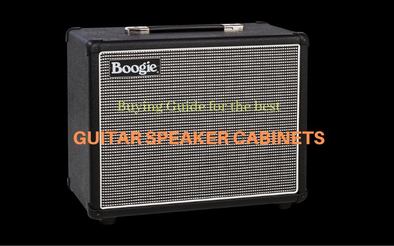 Best Guitar Speaker Cabinet Reviews Buyer's Guide