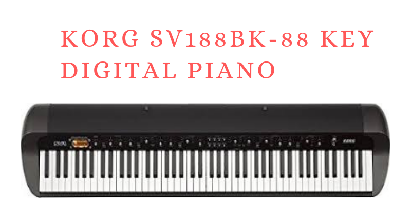 Korg SV188BK-88 Key Digital Piano Review