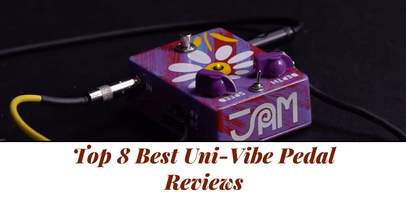 Top 8 Best Uni-Vibe Pedal On The Market 2021 Reviews