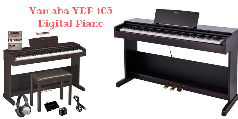 Yamaha YDP 103 Digital Piano Review