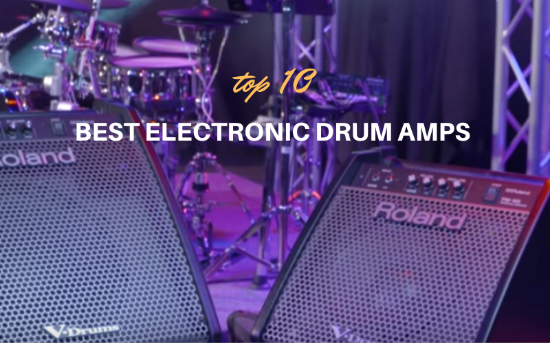 Best Electronic Drum Amps for the money