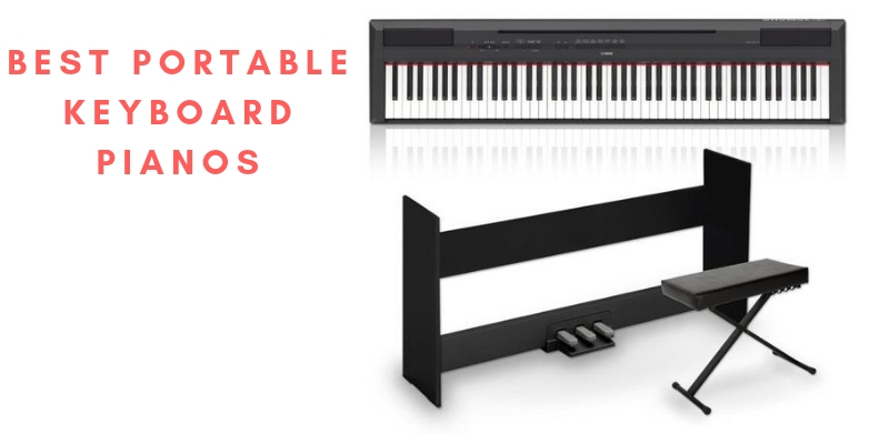 Top 6 Best Portable Keyboard Pianos In 2021 Reviews