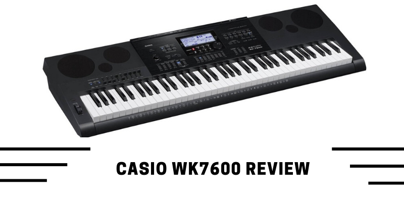 Casio WK7600 Review