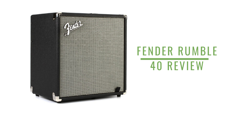 Fender Rumble 40 Review