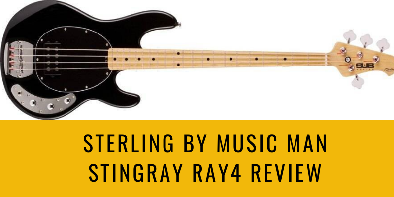 Sterling by Music Man StingRay Ray4 Review