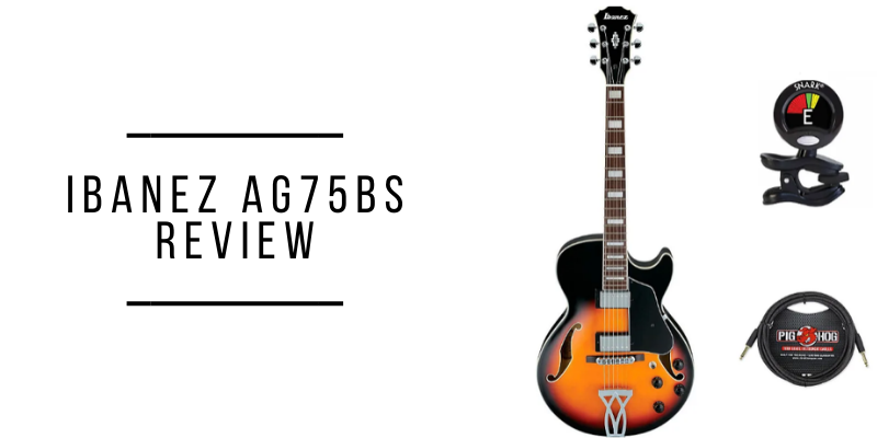 Ibanez AG75BS Review