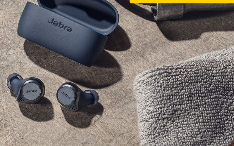 Jabra Elite Active 75t Earbuds – True Wireless Earbuds with Charging Case