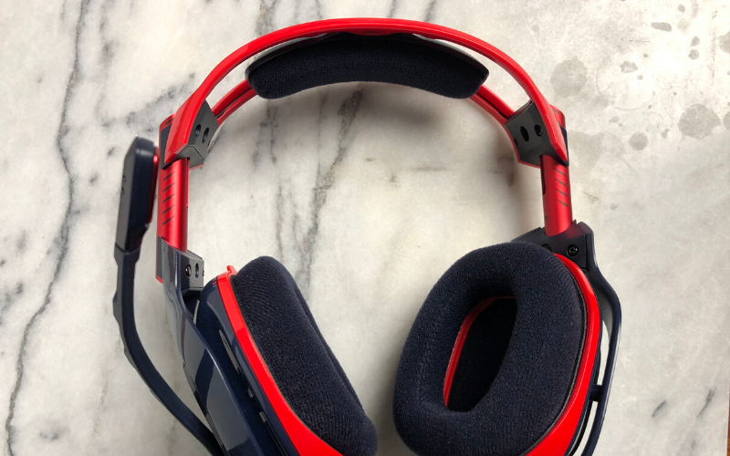 Astro A40 TR X-Edition Gaming Headset Review Comfort