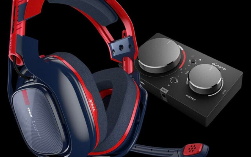 Astro A40 TR X-Edition Gaming Headset Review Control