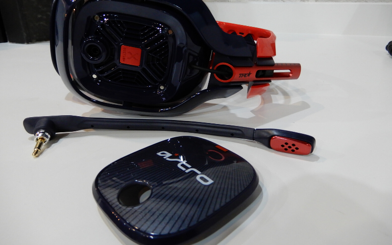 Astro A40 TR X-Edition Gaming Headset Review Setup