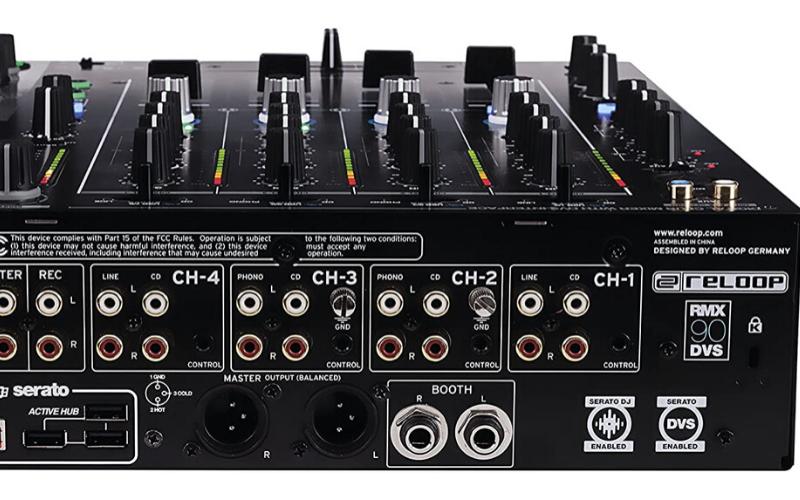 Best DJ Mixers DVS