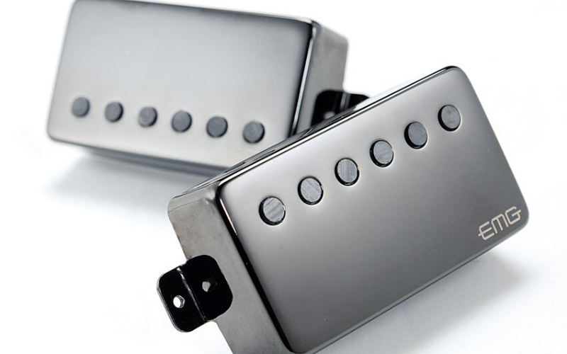EMG JH James Hetfield Electric Guitar Pickup Set Review Design