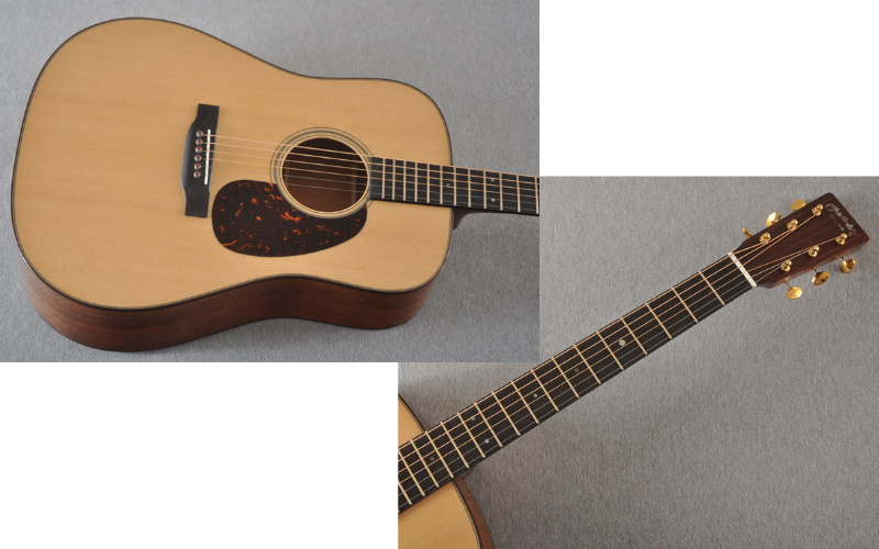Martin D-18 Review Hardware
