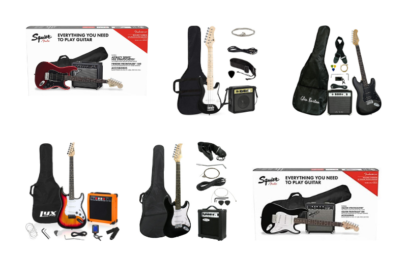 Top 6 Best Beginner Electric Guitar Packages In 2021 Reviews