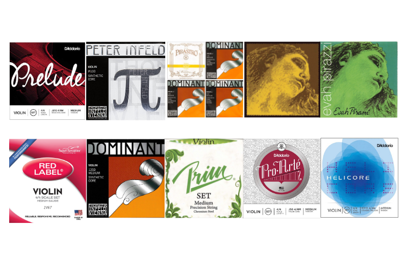 Top 10 Best Violin Strings In 2021 Review