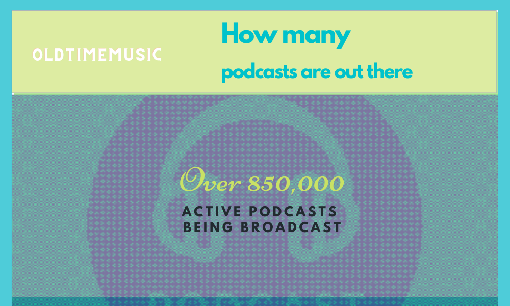 how many podcasts are out there