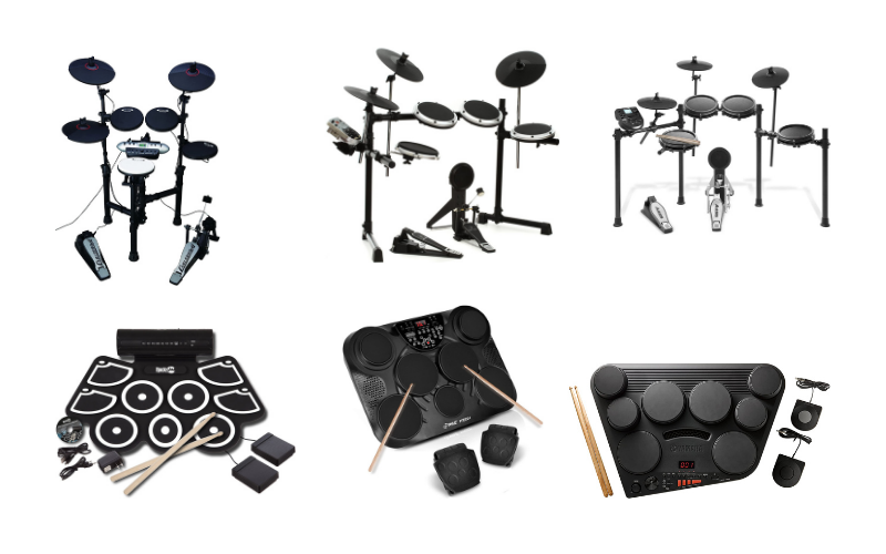 Top 6 Best Cheap Beginner Electronic Drum Sets Under $500 In 2021 Review