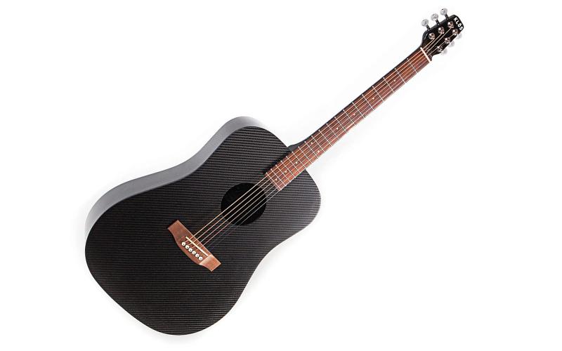 Klos Black Carbon Fiber Full Size Acoustic Guitar