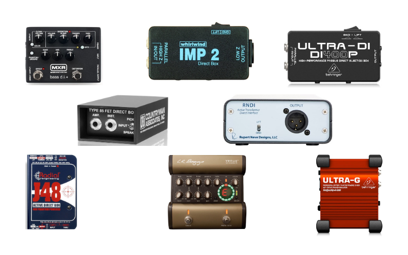 Best DI Boxes For Bass