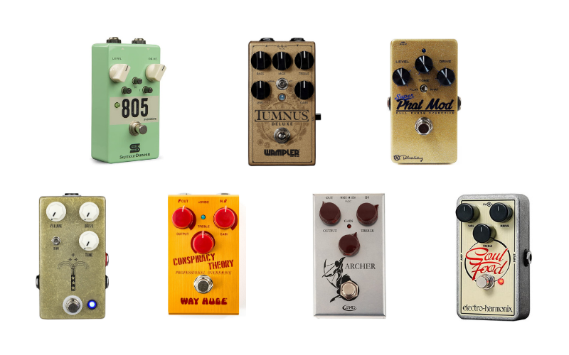 Top 7 Best Transparent Overdrive Pedals To Purchase In 2021 Review