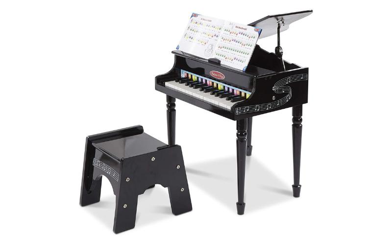 Melissa & Doug Learn-to-Play Classic Grand Piano
