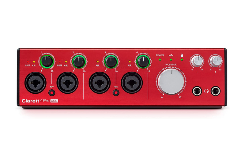 Focusrite Clarett 4Pre USB Review