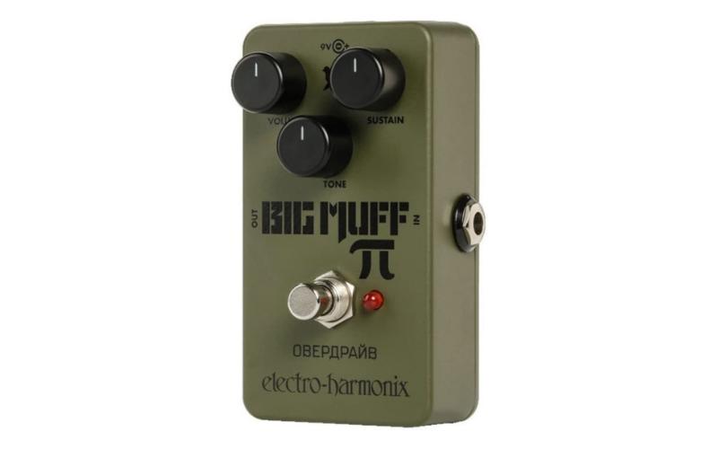 Electro-Harmonix Green Russian Big Muff Distortion/Sustainer Pedal