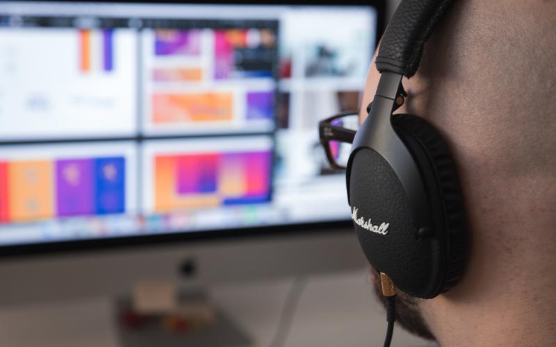 Audio Settings on an Apple Mac Computer