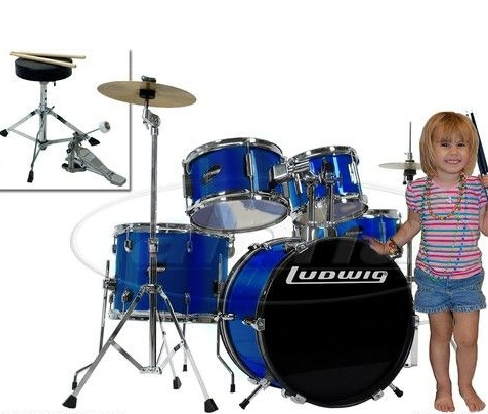 Ludwig-Junior-5-Piece-Drum-Set-review