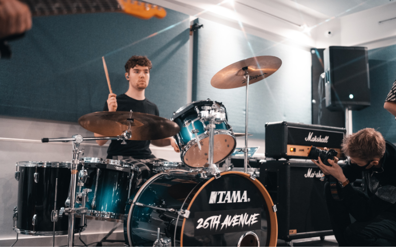 Getting to Know your Way around a Drum Kit