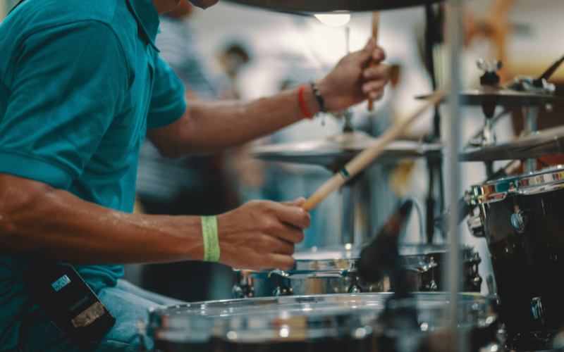 How to Play the Drum Kit