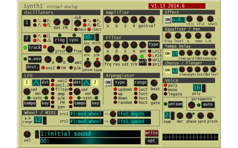 Synth1 by Daichi Laboratory