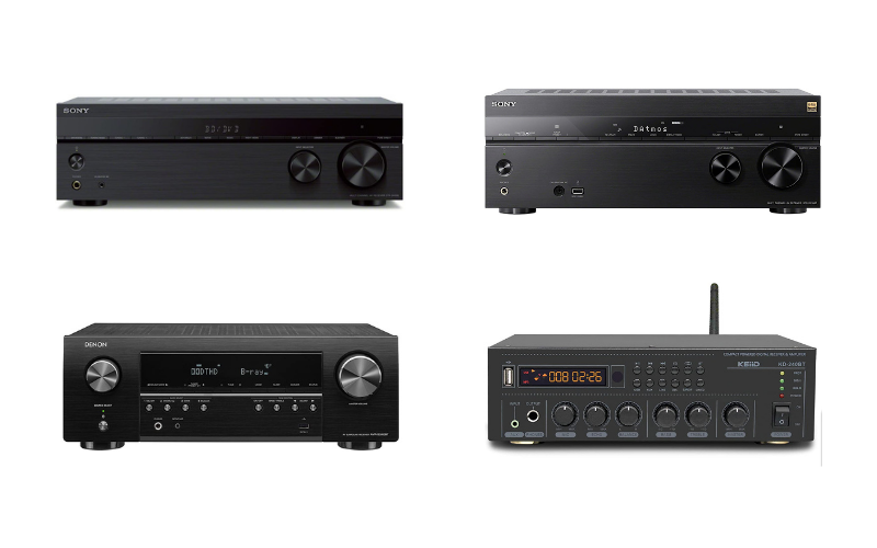 Receivers vs Amplifiers – Are They the Same?