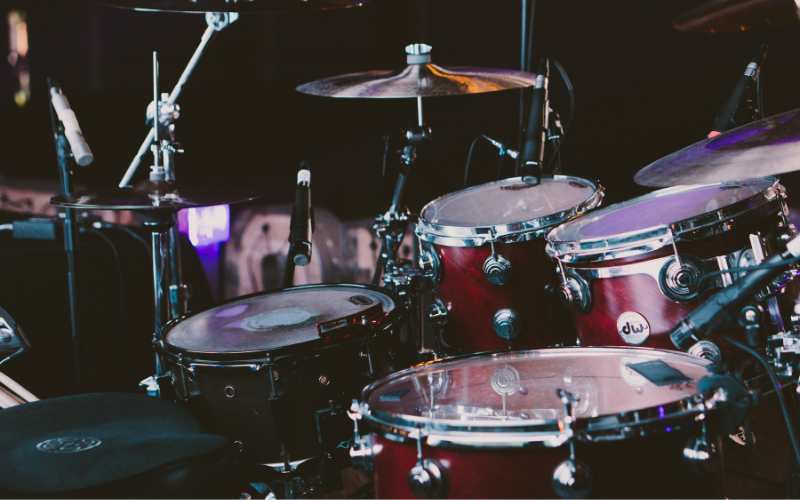 How To Record a Drum Set With 2-3 Microphones