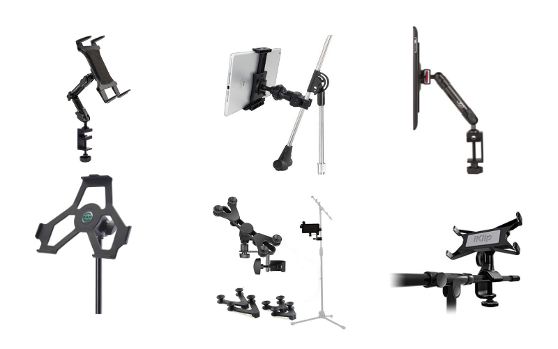 Top 6 Best Tablet Holders for Mic Stands of 2021 Review