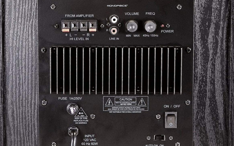 How to Connect a Subwoofer to an Amplifier using a High-Level Input