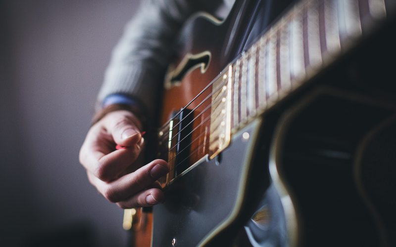 Strumming the Guitar