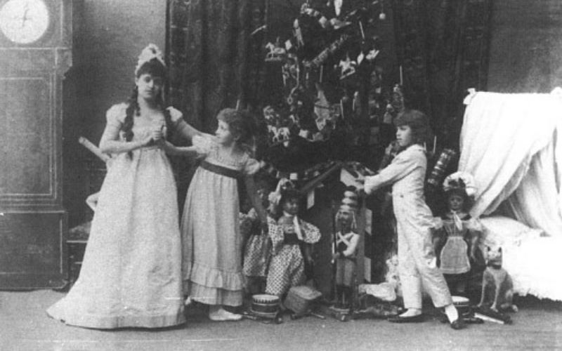 The Very First Performers Were Children