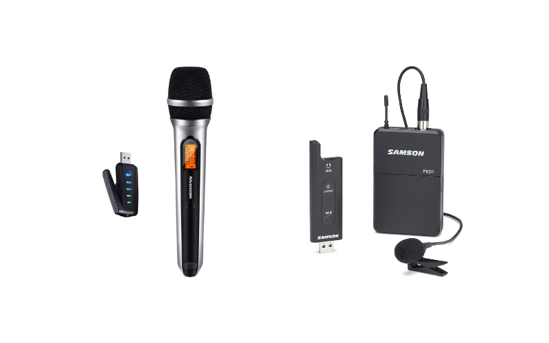 How to Connect a Wireless Microphone to a Computer