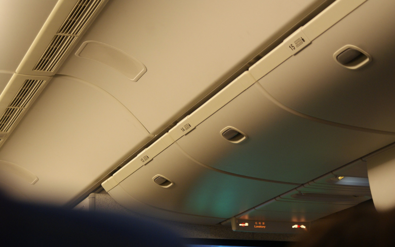 Can your guitar be placed in the overhead compartment