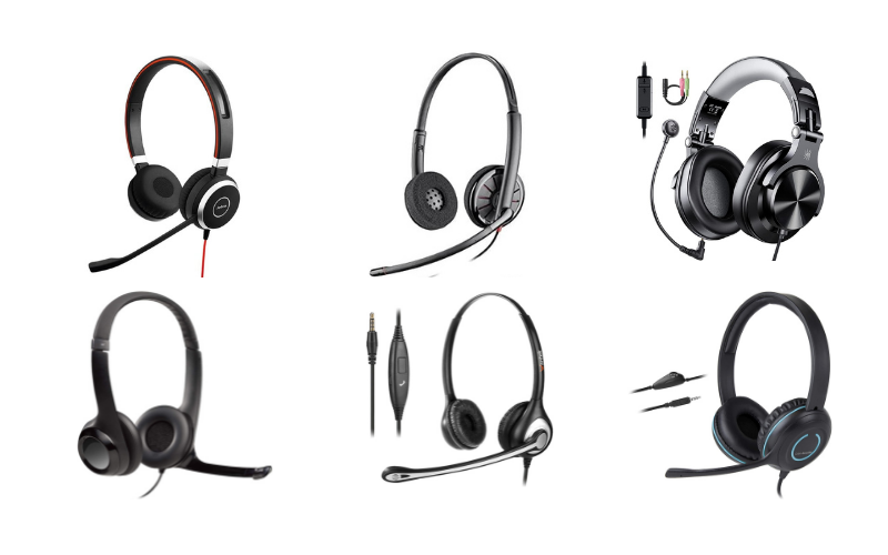 Top 6 Best Wired Headsets with Microphone for Cell Phone in 2021 Review