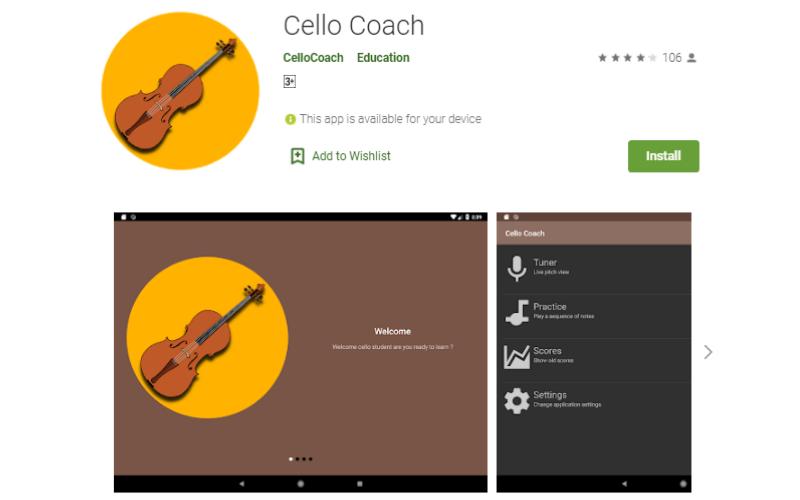 Cello Coach
