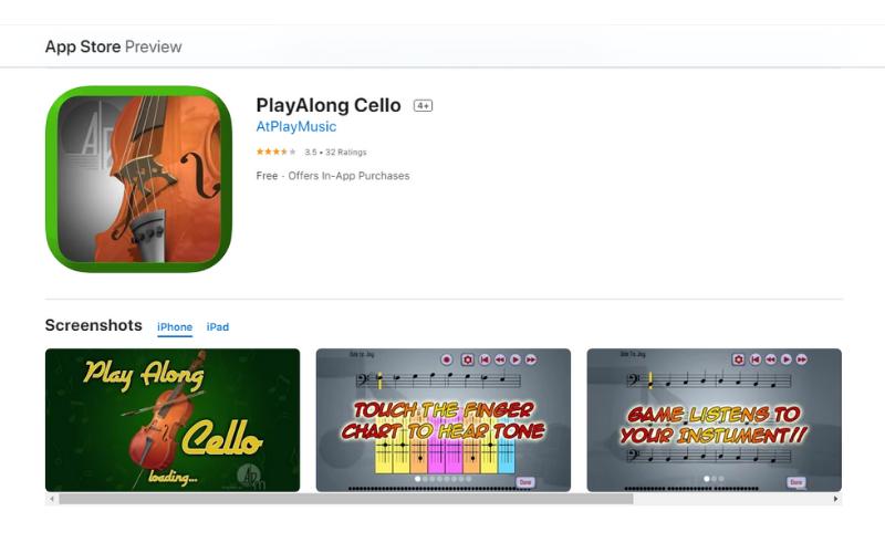 PlayAlong Cello