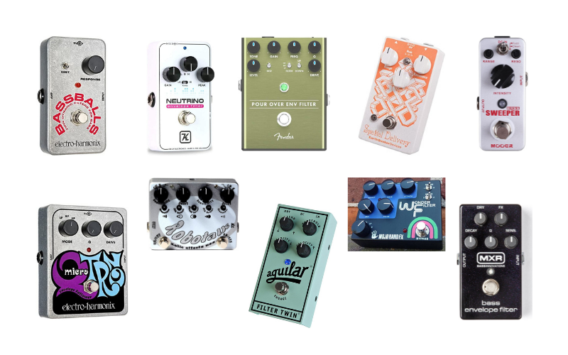 Top 10 Best Envelope Filter Pedals For Guitar & Bass of 2021 Review