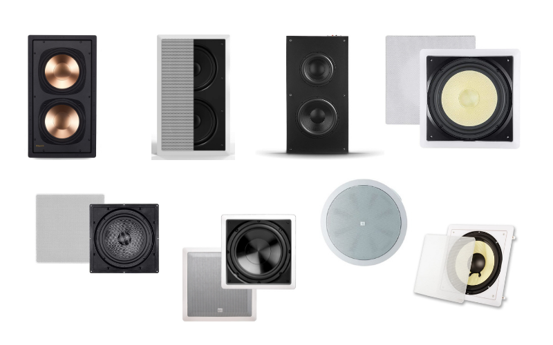 Top 8 Best In Wall Subwoofers on the Market in 2021 Review