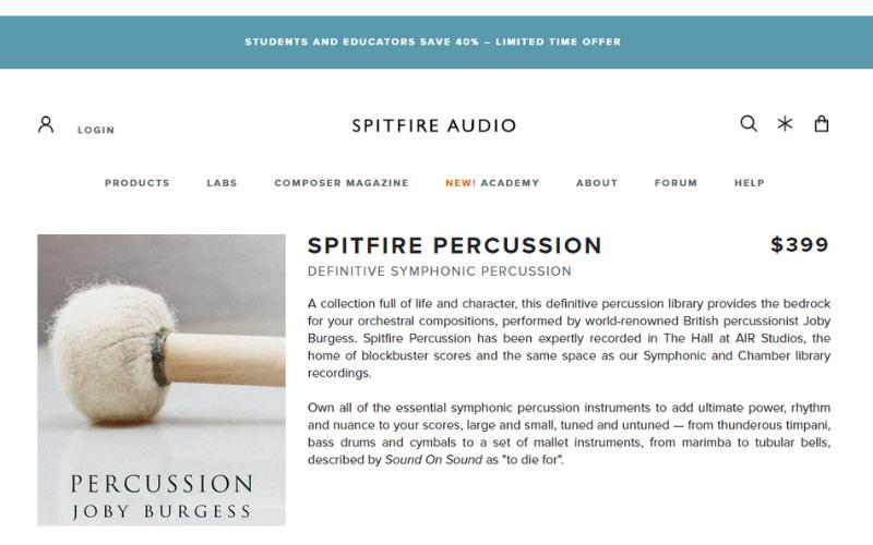 Spitfire Percussion