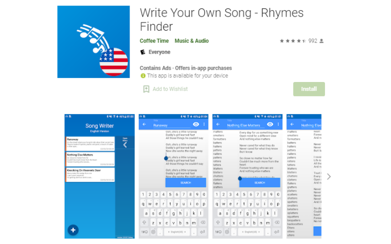 Write Your Own Song