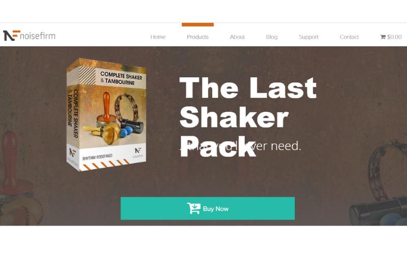 Complete Shaker & Tambourine